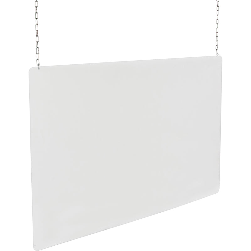 Ceiling Mounted Safety Shield