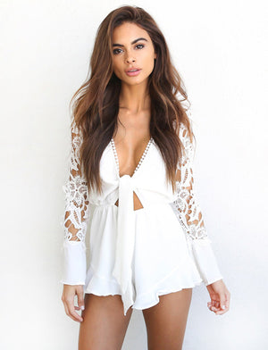 Kailey Lace Playsuit