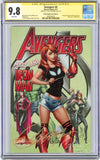 CGC 9.8 SS Avengers #8 cover C JSC