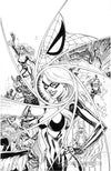 Original Art: Black Cat #5 Retail Cover