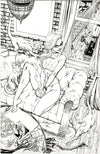 "Original Art: Black Cat #1 ""Loft"" JSC EXCLUSIVE (cover B)"