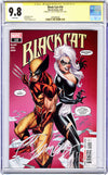 CGC 9.8 SS Black Cat #10 'retail' JSC