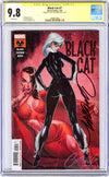 CGC 9.8 SS Black Cat #7 'retail' JSC