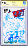 CGC 9.8 SS Danger Girl: Renegade #1 CONVENTION EXCLUSIVE