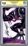 CGC 9.8 SS Amazing-Spider Man #800 'virgin' cover D J. Scott Campbell