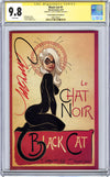 CGC 9.8 SS Black Cat #1 cover D J. Scott Campbell
