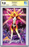 CGC 9.8 SS Captain Marvel #1 cover D J. Scott Campbell