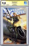 CGC 9.8 SS Captain Marvel #1 cover E J. Scott Campbell