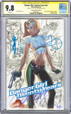 CGC 9.8 SS Danger Girl Twenty Years J. Scott Campbell
