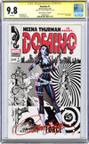 CGC 9.8 Signature Series Domino #1 cover C J. Scott Campbell