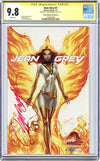 CGC 9.8 Signature Series Jean Grey #1 cover D J. Scott Campbell