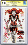 CGC 9.8 SS Phoenix Resurrection: The Return of Jean Grey #1 cover H J. Scott Campbell