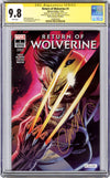 CGC 9.8 SS Return of Wolverine #1 'glow' AP J. Scott Campbell