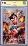 CGC 9.8 SS Wonder Woman #750 cover C JSC