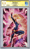 CGC **9.9** SS Captain Marvel #7 SDCC 2019 Exclusive 'glow' JSC