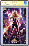 CGC **9.9** SS Captain Marvel #1 cover A J. Scott Campbell