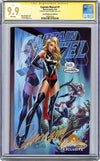 CGC **9.9** SS Captain Marvel #1 cover B J. Scott Campbell