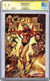 CGC **9.9** SS Captain Marvel #1 cover C J. Scott Campbell