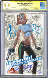 CGC **9.9** SS Danger Girl Twenty Years J. Scott Campbell