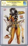 CGC **9.9** SS Phoenix Resurrection: The Return of Jean Grey #1 cover E J. Scott Campbell
