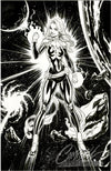 Original Art: Captain Marvel #1 Cover A