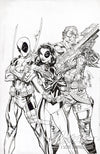Original Art: Domino #1 Cover B