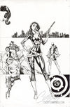 Original Art: Domino #1 Cover C