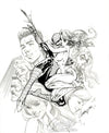 Original Art: Marvel Monograph JSC vol. 1 - SOLD