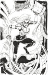 Original Art: Ms. Marvel 92' Variant Cover