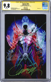 CGC 9.8 SS Spawn #301 cover P 'trade dress' JSC