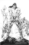 Original Art: Uncanny X-Men #6 'Conan vs Marvel'