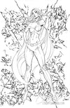 Original Art: X-Men Black #1 'Emma Frost' - SOLD