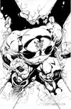 Original Art: X-Men Black #1 'Juggernaut' - SOLD