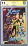 CGC 9.8 SS X-Men Blue #1 cover A JSC