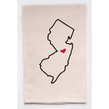 New Jersey Love My State-Tea Towel