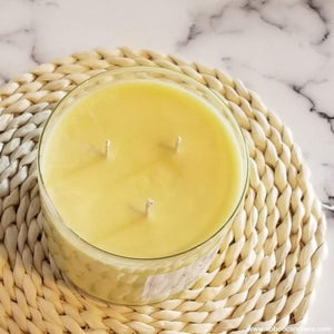 3 Wick Candle -Peaches and Sugar