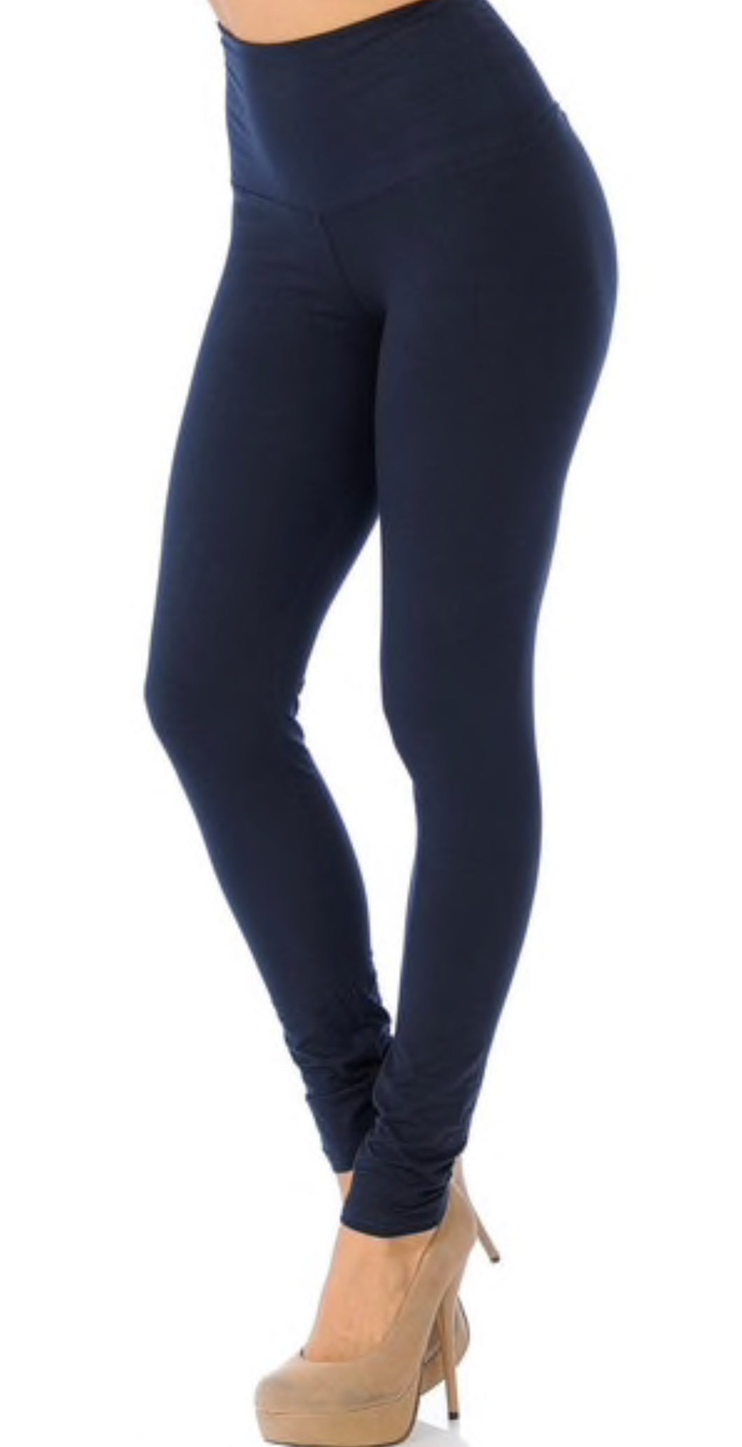 Solid OS Yoga Band Leggings