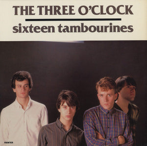 THREE O'CLOCK Sixteen Tambourines [1983] 2010 Frontier Records CLEAR VINYL reissue SEALED NEW