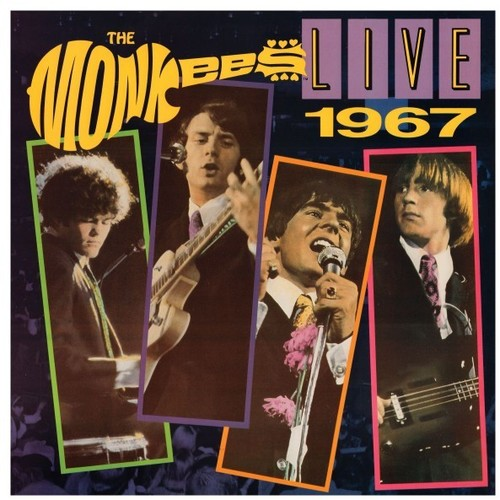 MONKEES Live 1967 [2016] 50th Anniv. Limited Ed. RED vinyl SEALED, NEW
