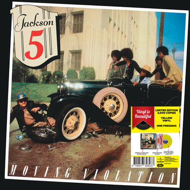 JACKSON 5 Moving Violation [1975] 2018 Ltd Ed YELLOW VINYL SEALED, NEW