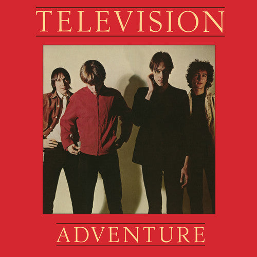 TELEVISION Adventure [2019] RED vinyl reissue SEALED, NEW
