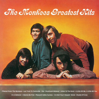 MONKEES Greatest Hits [2018] ORANGE vinyl reissue SEALED, NEW (PREORDER 1/8/2019)