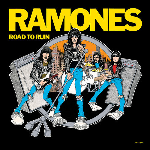 RAMONES Road To Ruin [2019] Indie Exclusive BLUE vinyl SEALED, NEW