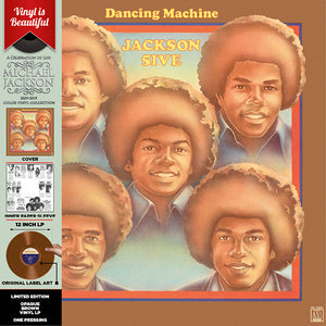 JACKSON 5 Dancing Machine [2019] Ltd ed Opaque BROWN vinyl SEALED, NEW