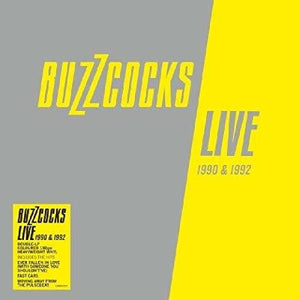 BUZZCOCKS Live 1990 & 1992 [2019] import 2LP GREY vinyl SEALED, NEW