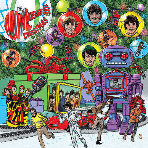 MONKEES Christmas Party [2019] Finally on vinyl! GREEN or RED *Indie Exclusive* SEALED, NEW