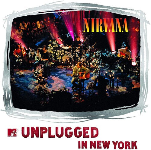 NIRVANA MTV Unplugged in New York [2019] 25th anniv 2LP reissue, 5 prev unreleased tracks SEALED, NEW