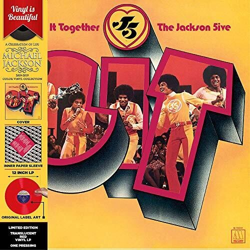 JACKSON 5 Get it Together [2019] Ltd ed RED vinyl SEALED, NEW
