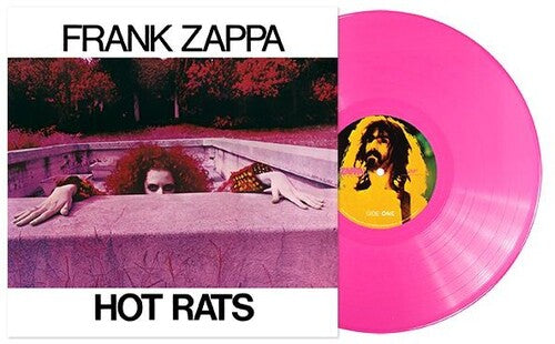 ZAPPA, FRANK Hot Rats (50th Anniv) [2019] Ltd 180g PINK vinyl SEALED, NEW