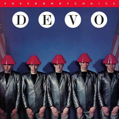 DEVO (1/17) Freedom of Choice [2020] reissue WHITE vinyl SEALED, NEW
